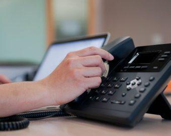 bellen vaste telefoon